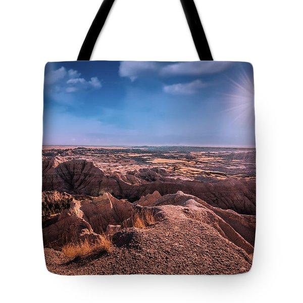 The Badlands Of South Dakota II Tote Bag