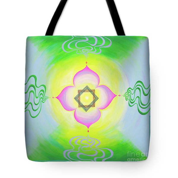 The Bagua Of The Heart Tote Bag