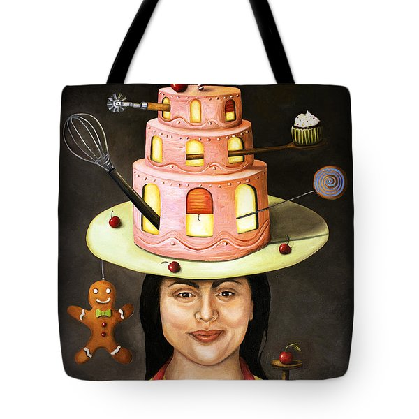 The Baker Tote Bag by Leah Saulnier The Painting Maniac