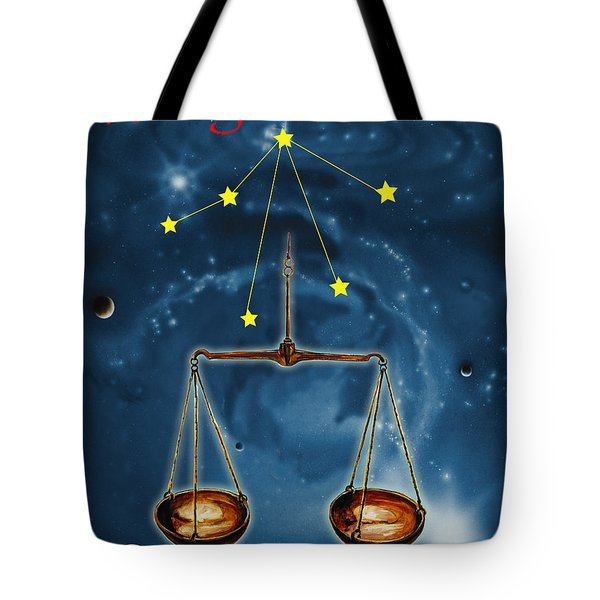 The Balance Of The Universe Tote Bag