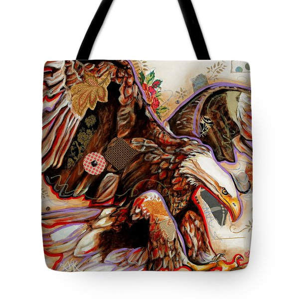 The Bald Eagle Tote Bag