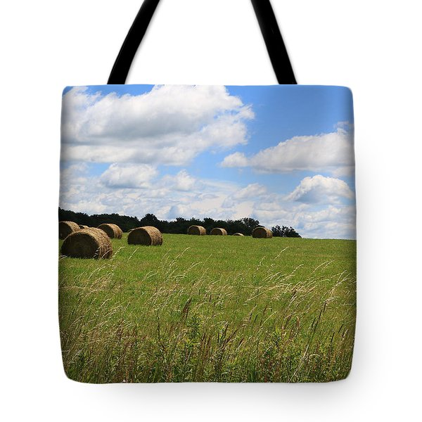 The Bales Of Summer 2 Tote Bag