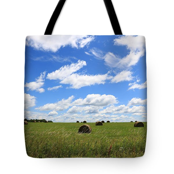 The Bales Of Summer 3 Tote Bag