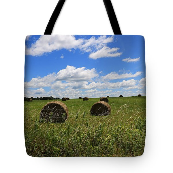 The Bales Of Summer Tote Bag