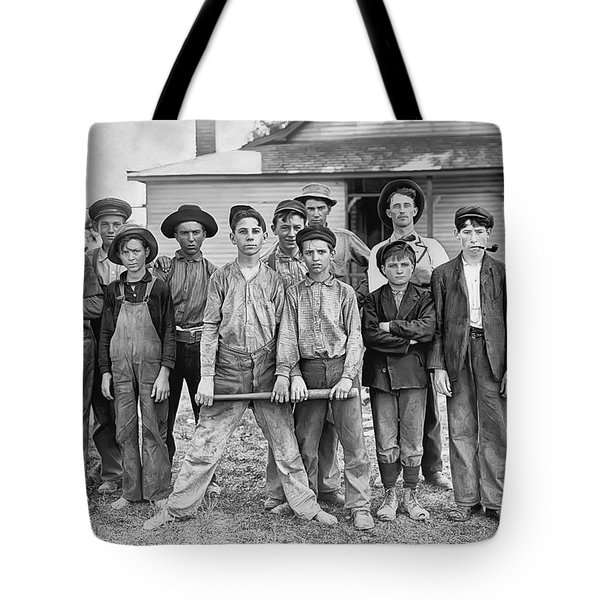 The Ball Team Tote Bag