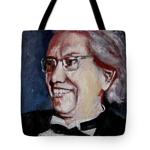 The Ballet Maestro Tote Bag