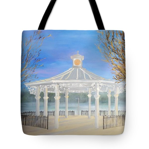 The Bandstand Basingstoke War Memorial Park Tote Bag