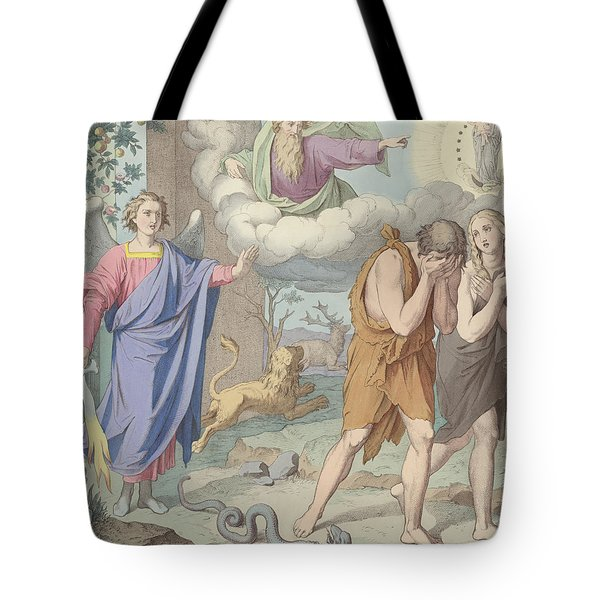 The Banishment From Paradise Tote Bag