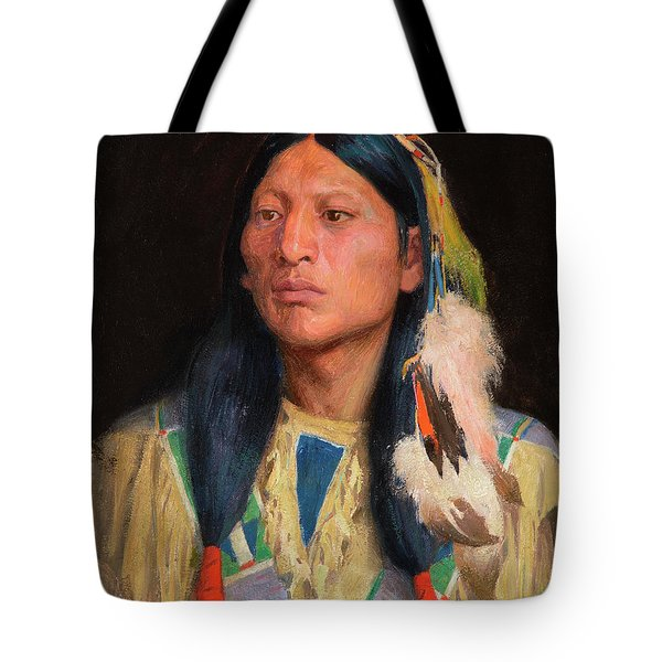 The Bank Of The River Tote Bag
