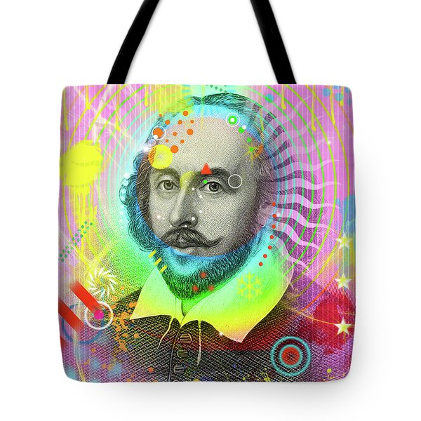 The Bard Tote Bag by Gary Grayson