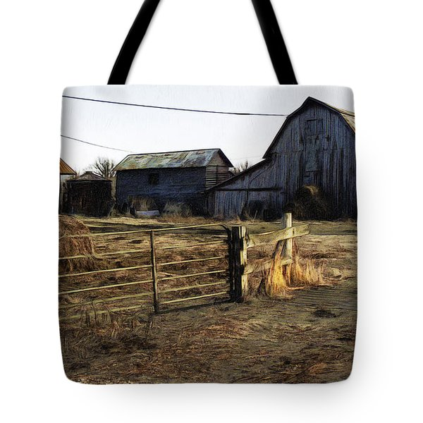 The Barn Across The Road Tote Bag