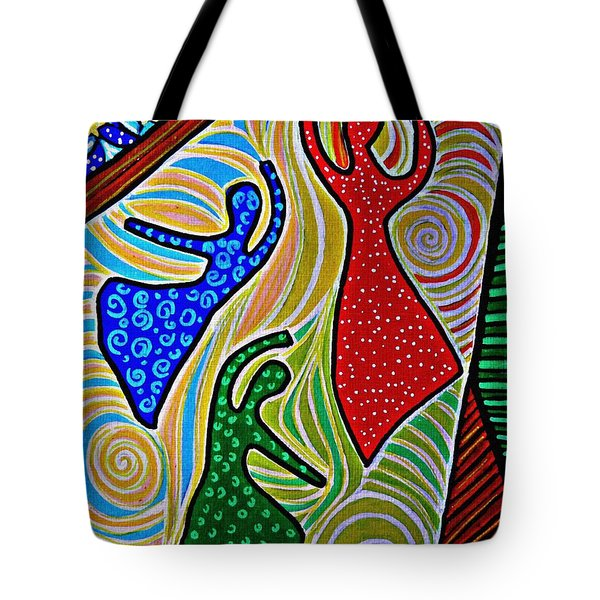 The Barn Dancers Tote Bag