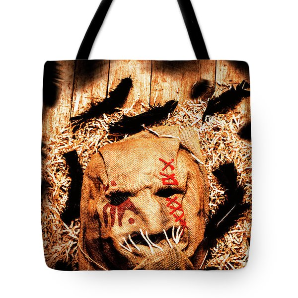 The Barn Monster Tote Bag