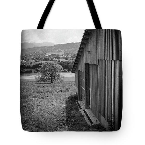 The Barn, Switzerland Tote Bag