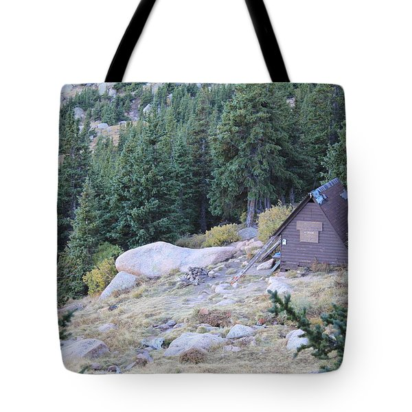 The Barr Trail A Frame Tote Bag by Christin Brodie