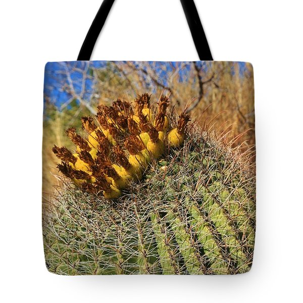 The Barrel Tote Bag by Sheila Ping
