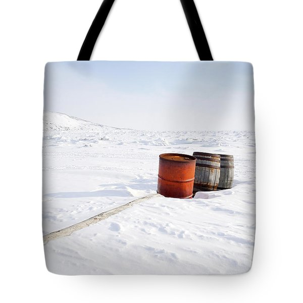 The Barrels Tote Bag by Nick Mares