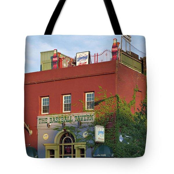 The Baseball Tavern Boston Massachusetts  -30948 Tote Bag