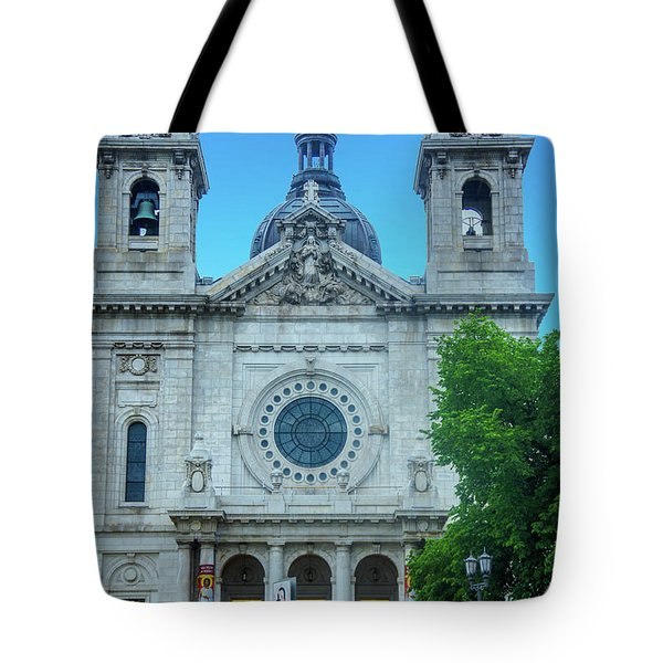 The Basilica Of Saint Mary Tote Bag