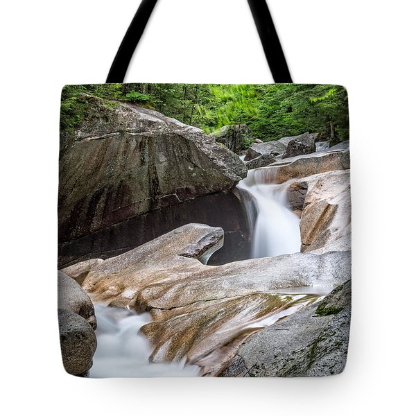 The Basin Down River Tote Bag