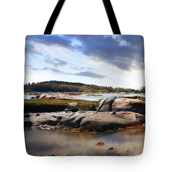 The Basin, Vinalhaven, Maine Tote Bag