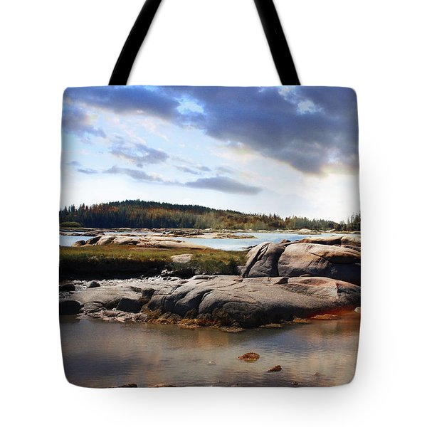The Basin, Vinalhaven, Maine Tote Bag