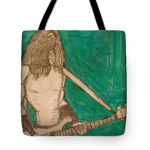 The Bassist  Tote Bag