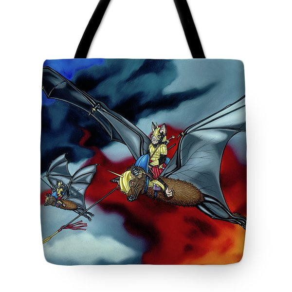 The Bat Riders Tote Bag