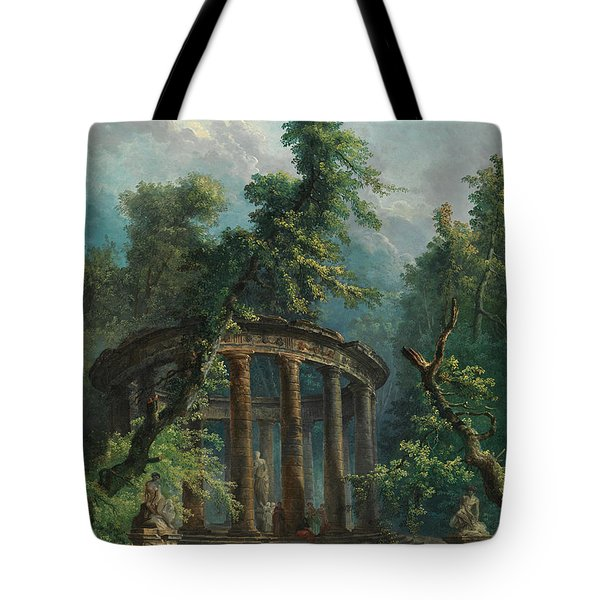 The Bathing Pool Tote Bag