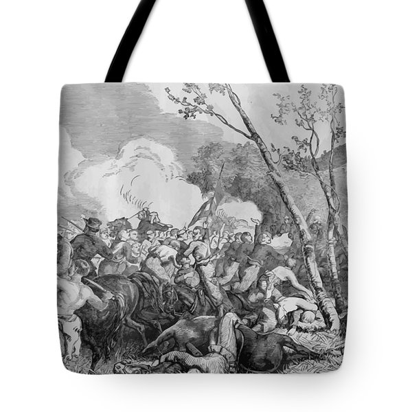 The Battle Of Bull Run Tote Bag