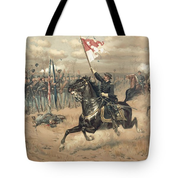 The Battle Of Cedar Creek Virginia Tote Bag