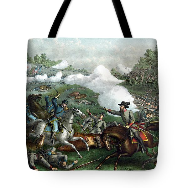 The Battle Of Winchester Tote Bag by War Is Hell Store