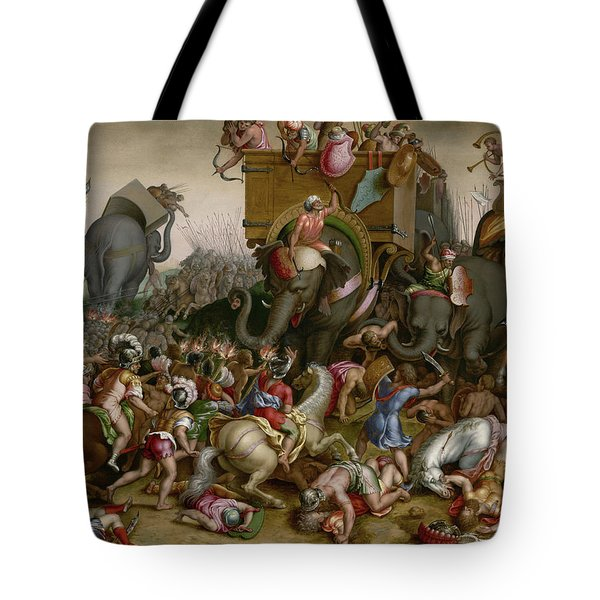 The Battle Of Zama Tote Bag