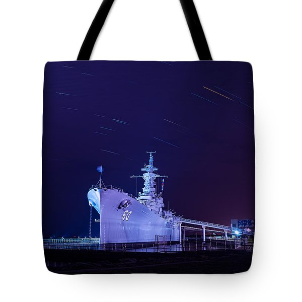 The Battleship Tote Bag