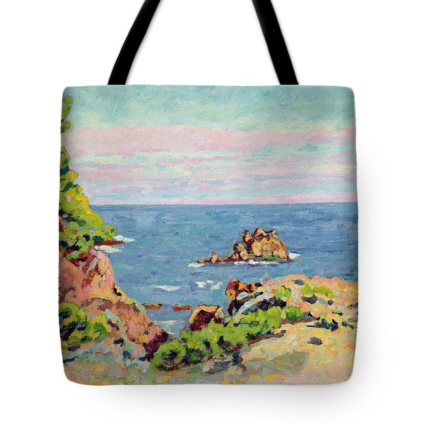 The Baumettes Tote Bag by Jean Baptiste Armand Guillaumin