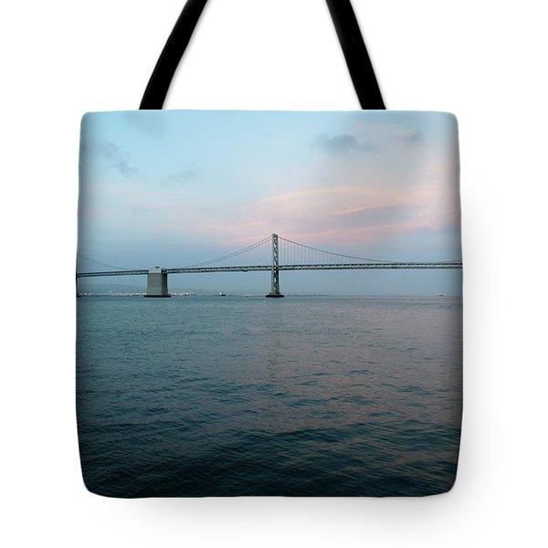 The Bay Bridge Tote Bag