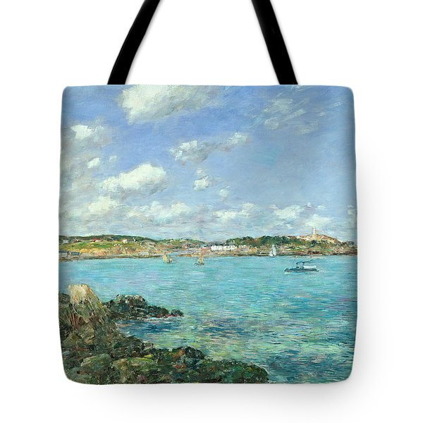 The Bay Of Douarnenez Tote Bag