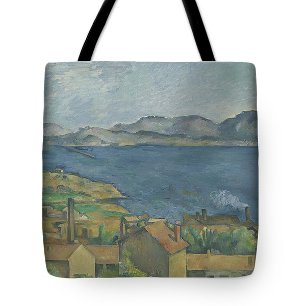 The Bay Of Marseille Tote Bag