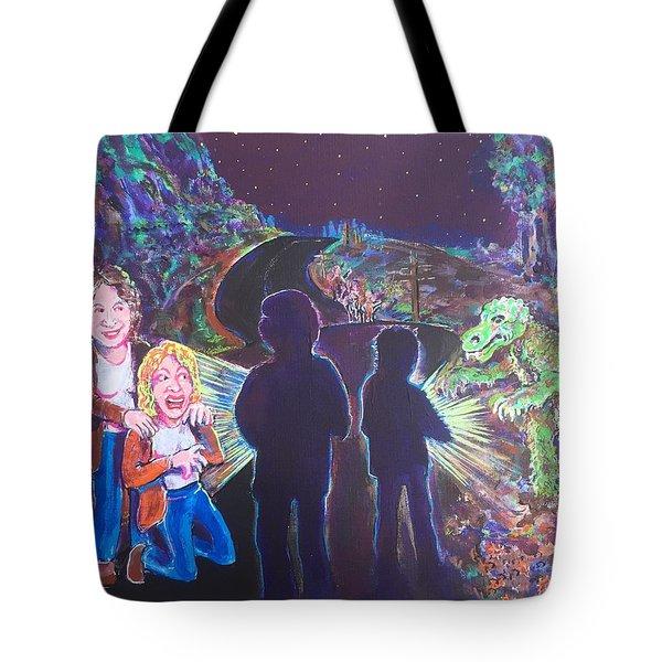 The Bay Road Swamp Monster Tote Bag