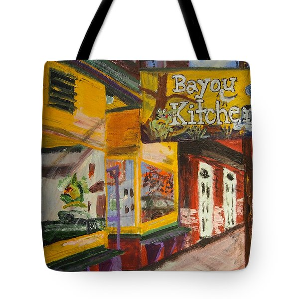 The Bayou Kitchen Tote Bag