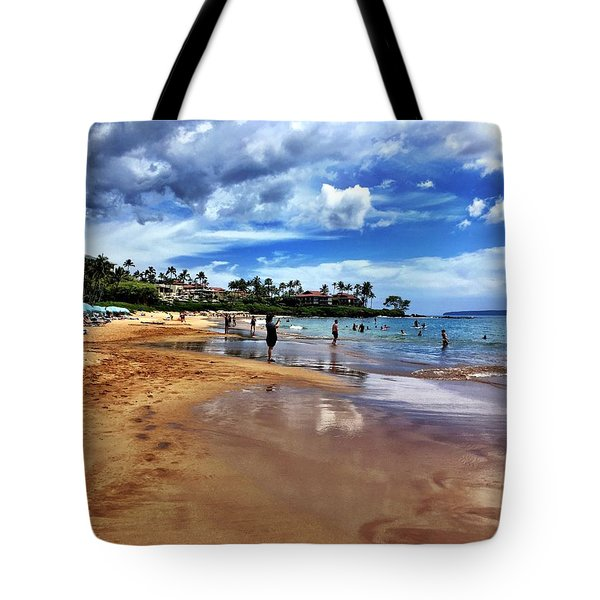 The Beach 2 Tote Bag by Michael Albright