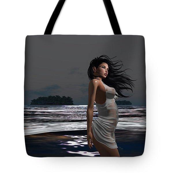 The Beach 3 Tote Bag