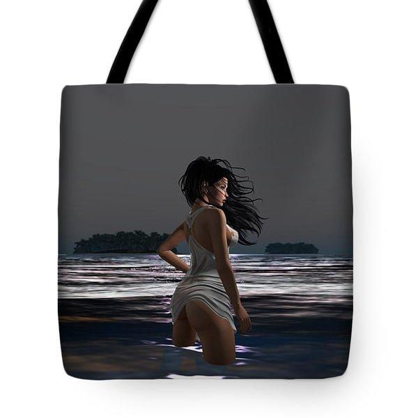 The Beach 4 Tote Bag
