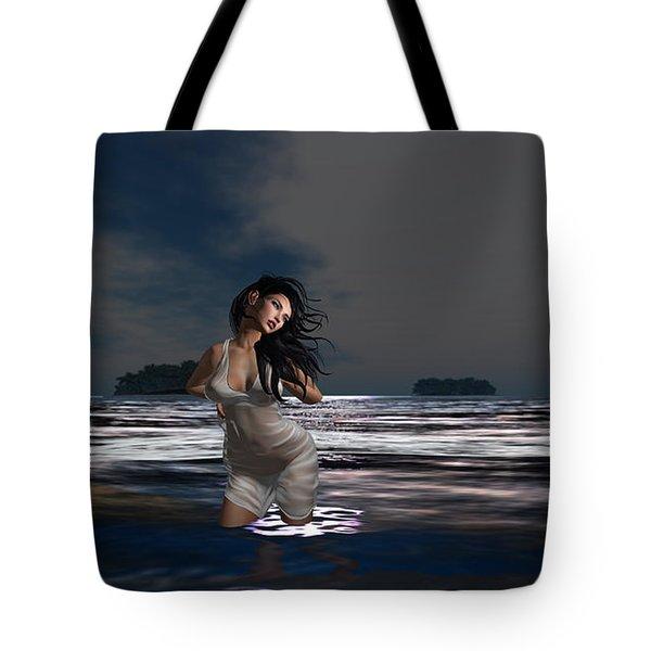 The Beach 5 Tote Bag