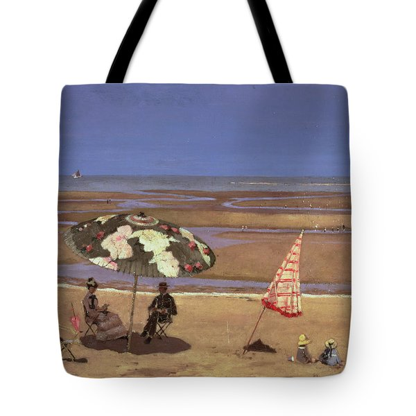 The Beach Tote Bag by Etienne Moreau Nelaton