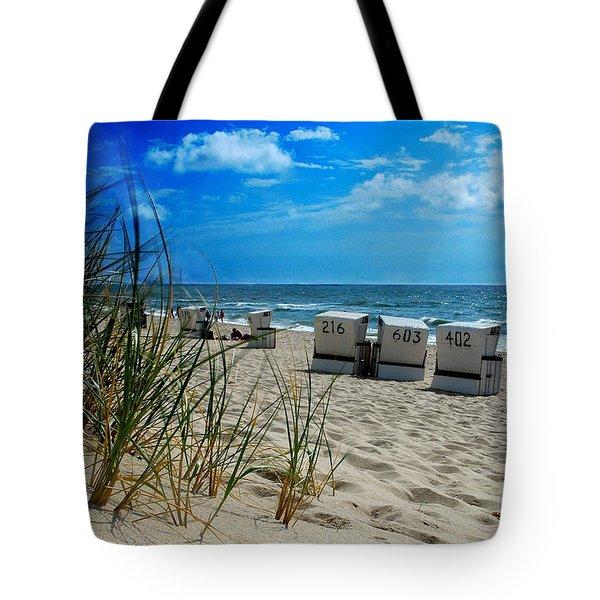 The Beach Tote Bag by Hannes Cmarits