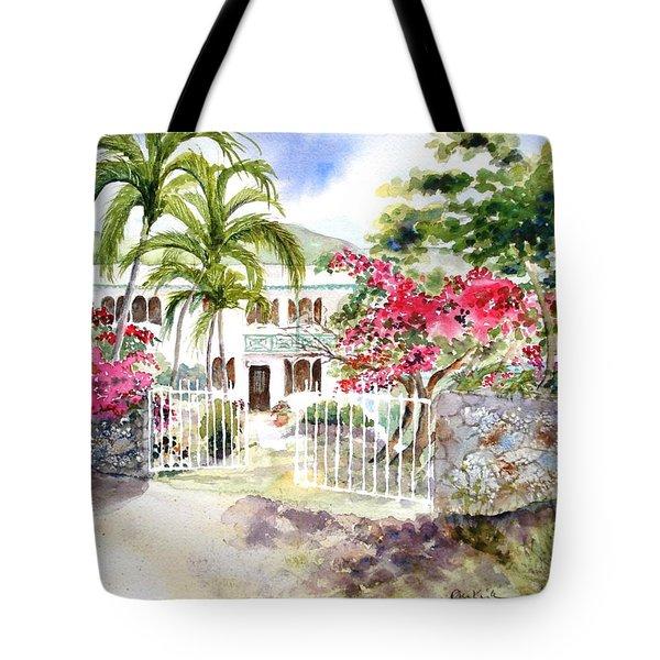 The Beach House Tote Bag
