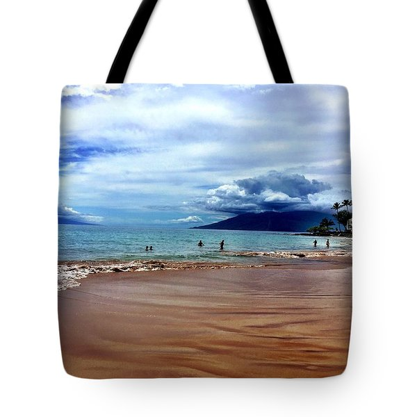 The Beach Tote Bag by Michael Albright