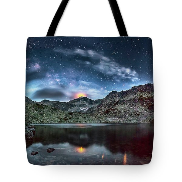 The Beacon Tote Bag by Evgeni Dinev