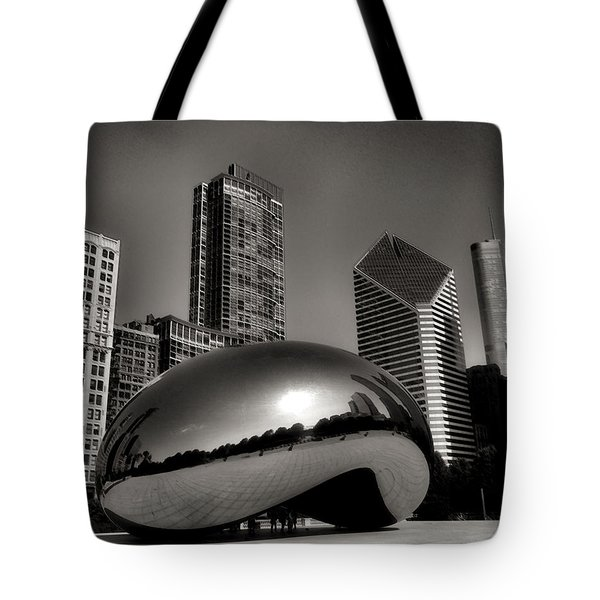 The Bean - 4 Tote Bag by Ely Arsha